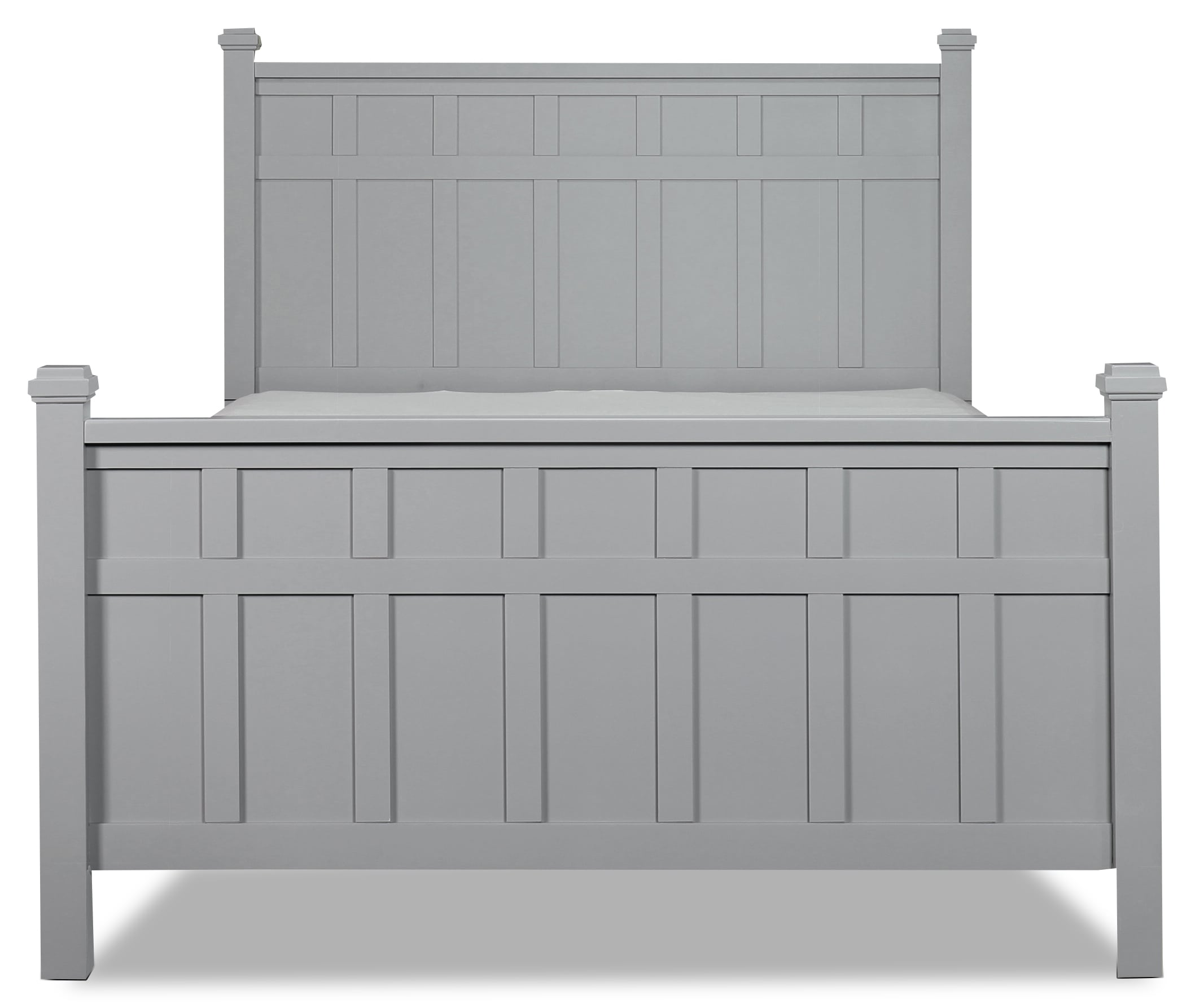 Felicity Grey Queen Bed