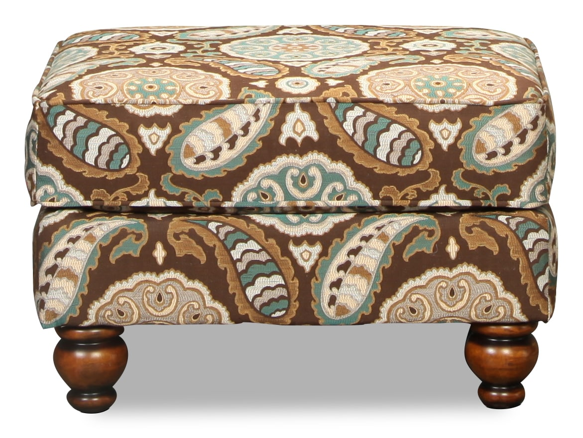 Living Room Furniture - Brookside Accent Ottoman