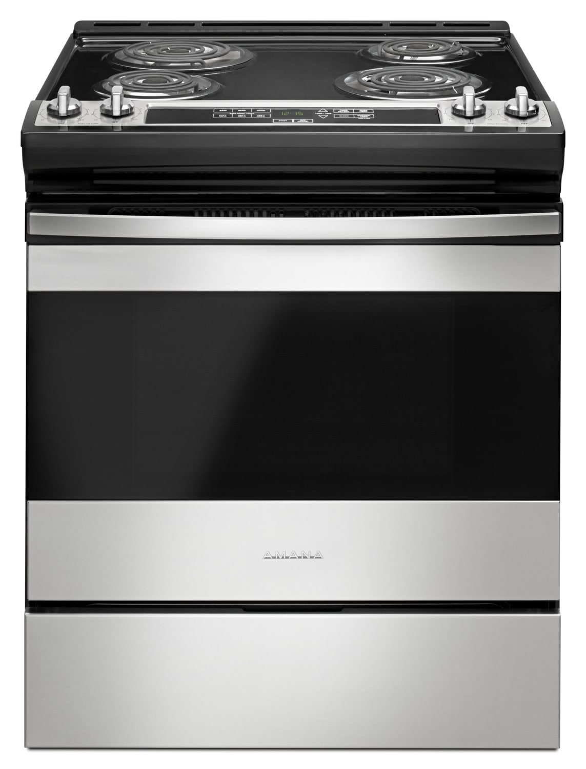 "Amana 30"" Electric Range with Front Console – YACS4303MFS"