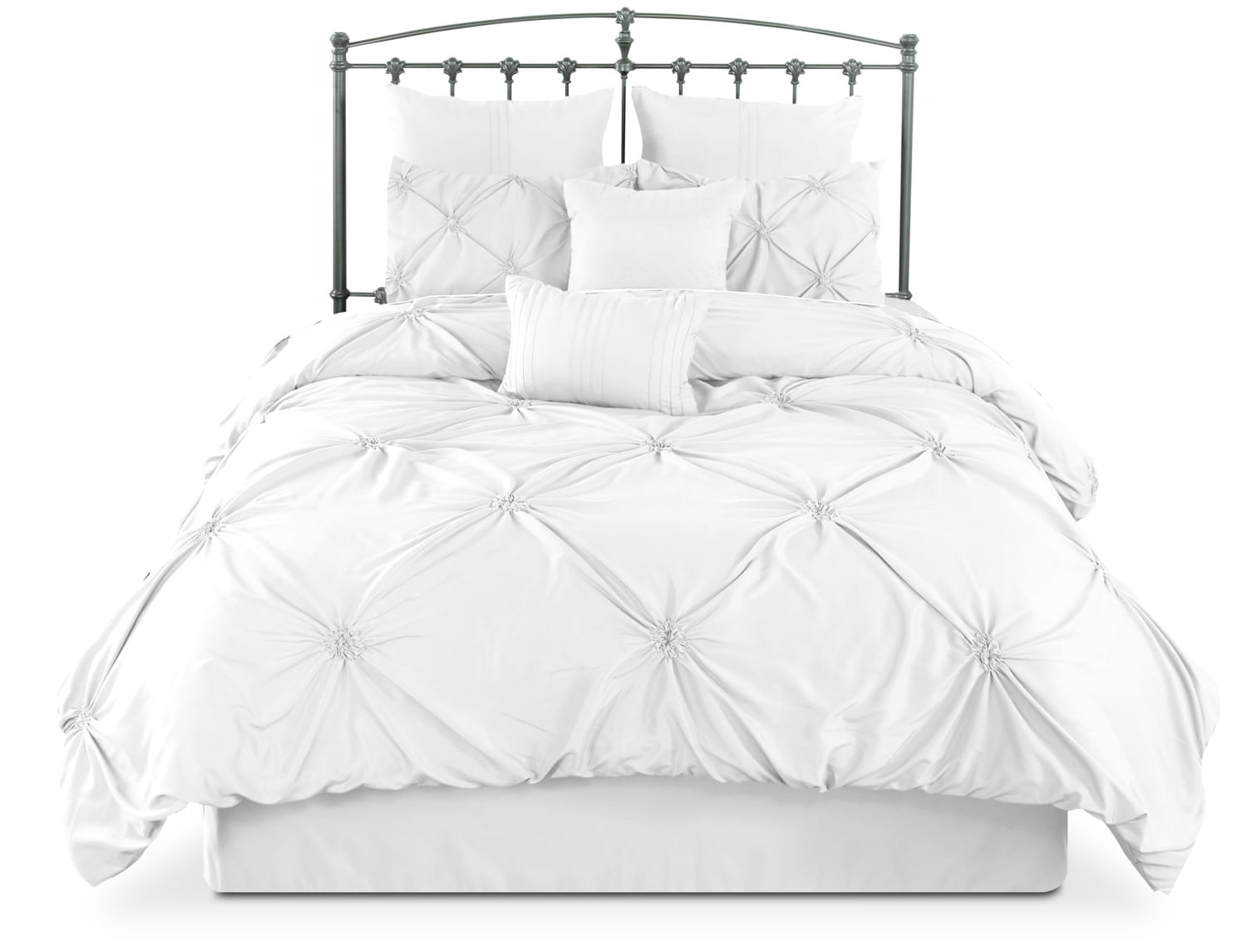Lila 7-Piece Queen Comforter Set