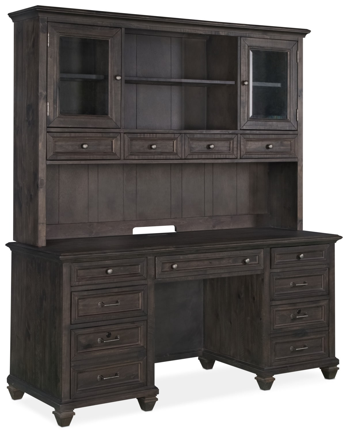 "Calistoga 66"" Desk with Hutch"