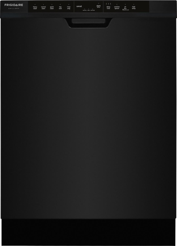 """Frigidaire Gallery Black 24"""" Dishwasher - FGCD2444SB"""