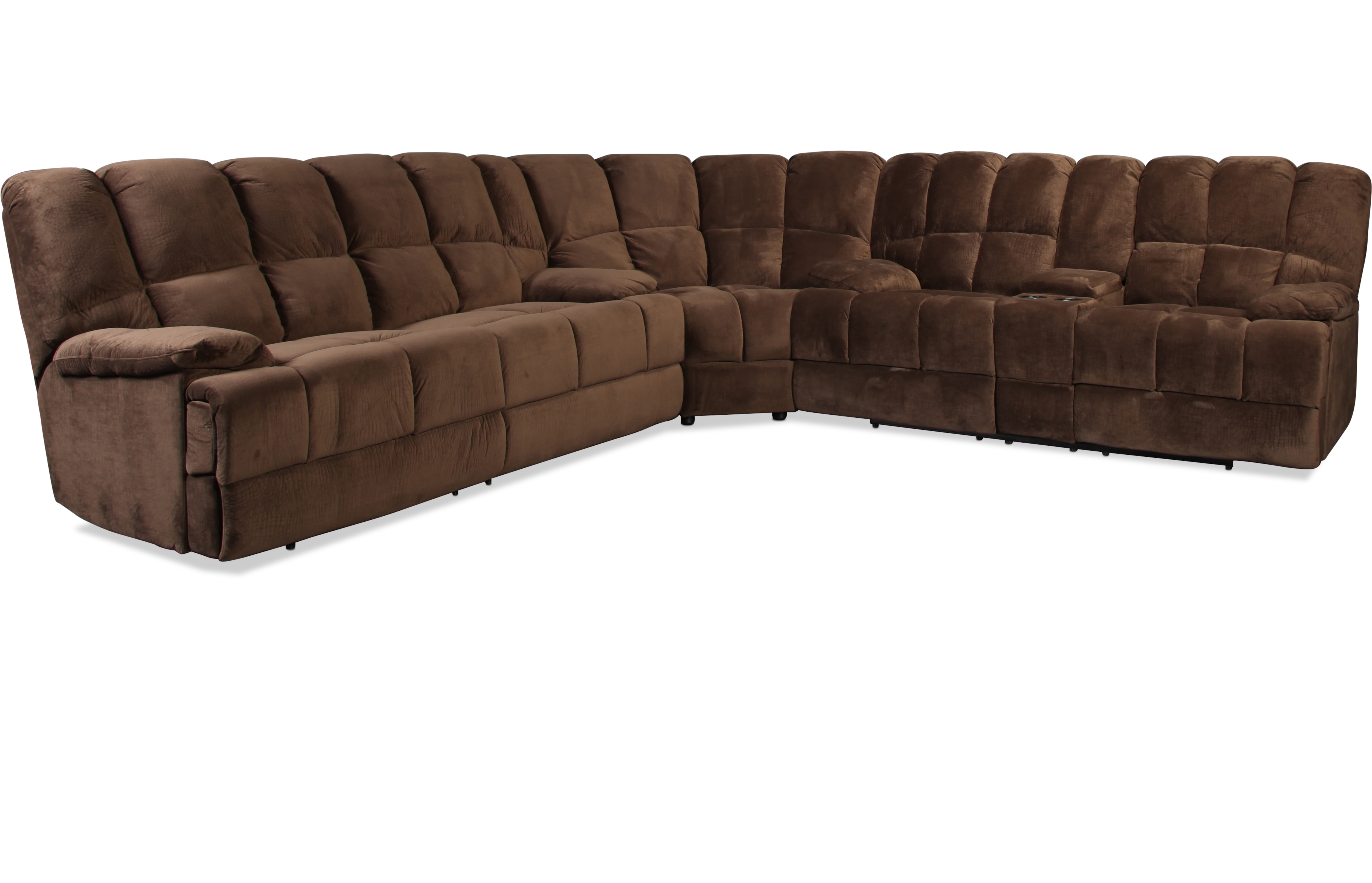 Cole 3pc Reclining Sectional