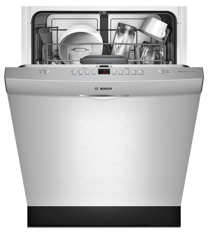 Portable Dishwashers At Lowe S : Samsung stainless steel dishwasher pcrichard inch