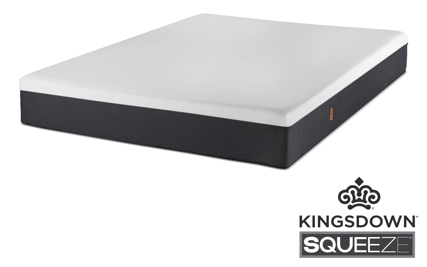 """Mattresses and Bedding - Kingsdown Squeeze Twin 10"""" Mattress-in-a-Box"""