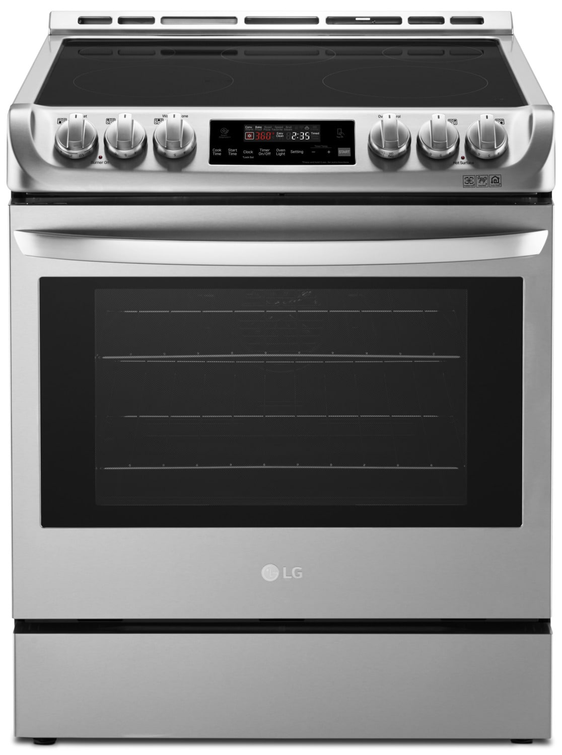 LG 6.3 Cu. Ft. Electric Slide-In Range with ProBake Convection™ – LSE4611ST