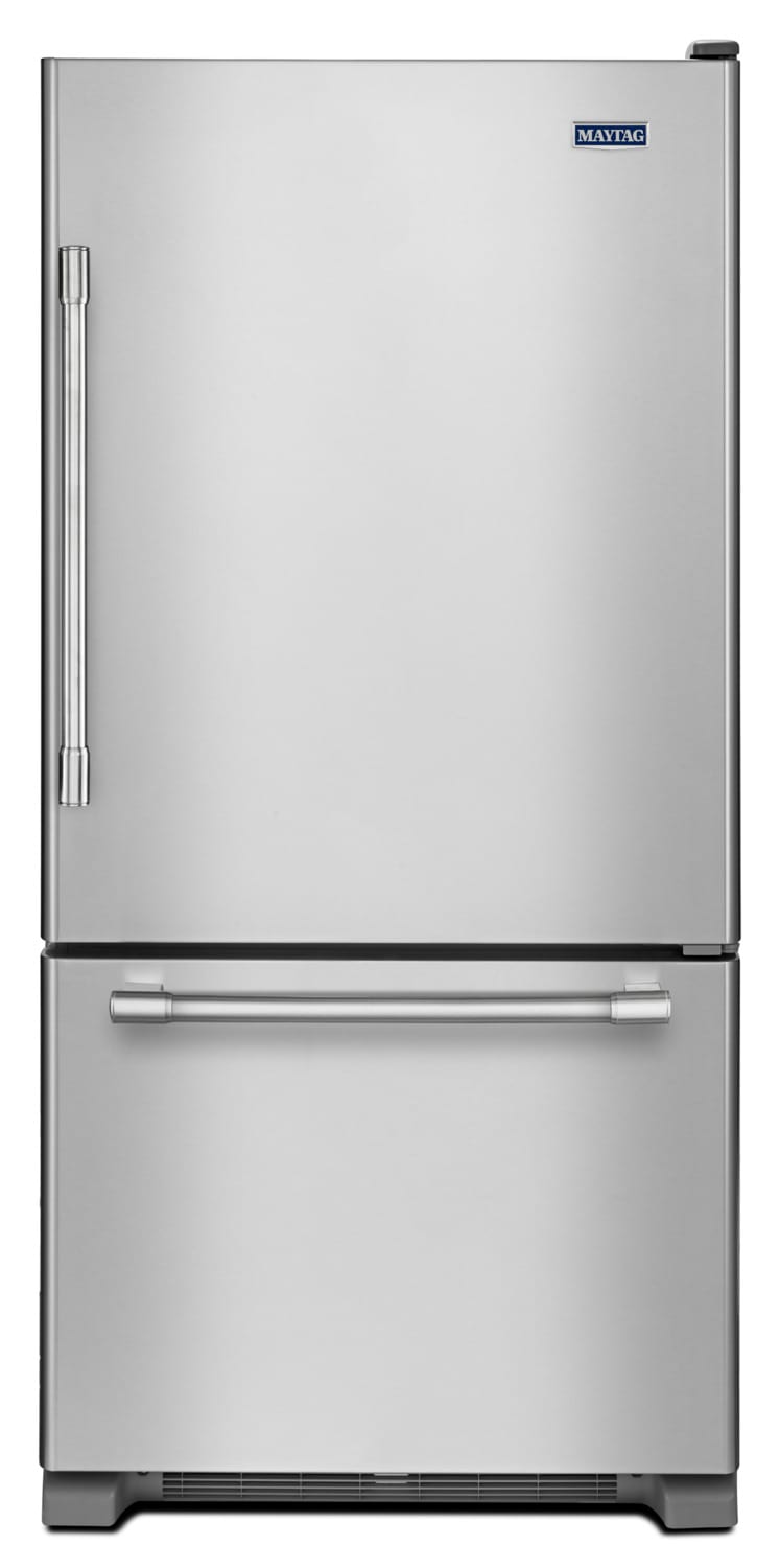 Maytag Stainless Steel Bottom-Freezer Refrigerator (19 Cu. Ft.) - MBL1957FEZ