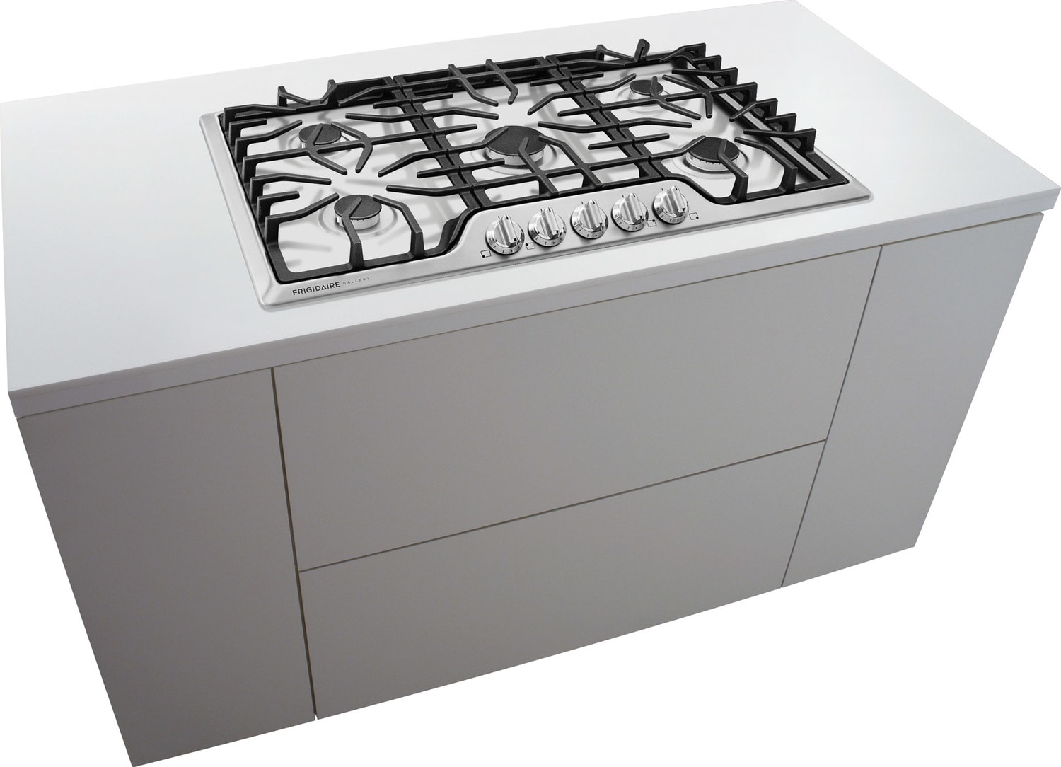 frigidaire gallery stainless steel gas cooktop fggc3645qs leon 39 s. Black Bedroom Furniture Sets. Home Design Ideas