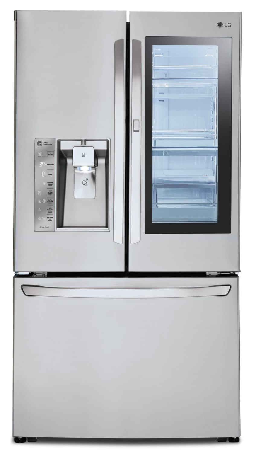 LG 30 Cu. Ft. French-Door Refrigerator with InstaView™ Door-in-Door® – LFXS30796S