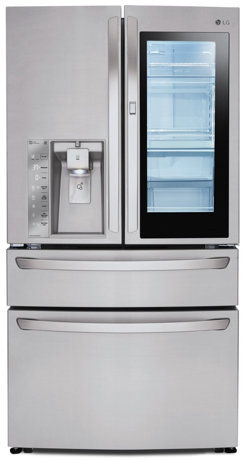 LG 30 Cu. Ft. French-Door Refrigerator with InstaView™ Door-in-Door® – LMXS30796S