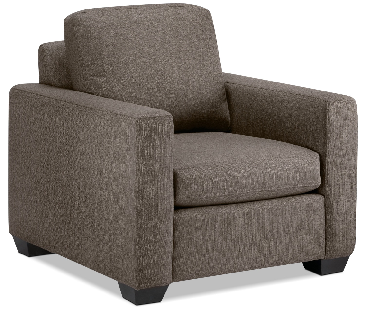 Living Room Furniture - Hilary Chair - Taupe