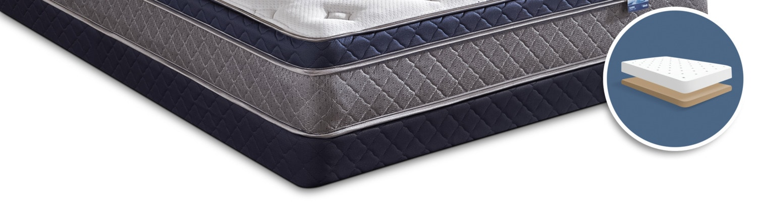 Springwall Sabre Low-Profile Full Boxspring