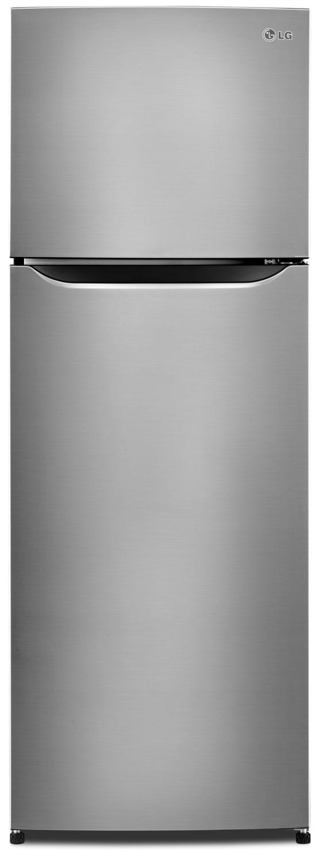 LG 11 Cu. Ft. Compact Top-Mount Refrigerator – LTNC11121V