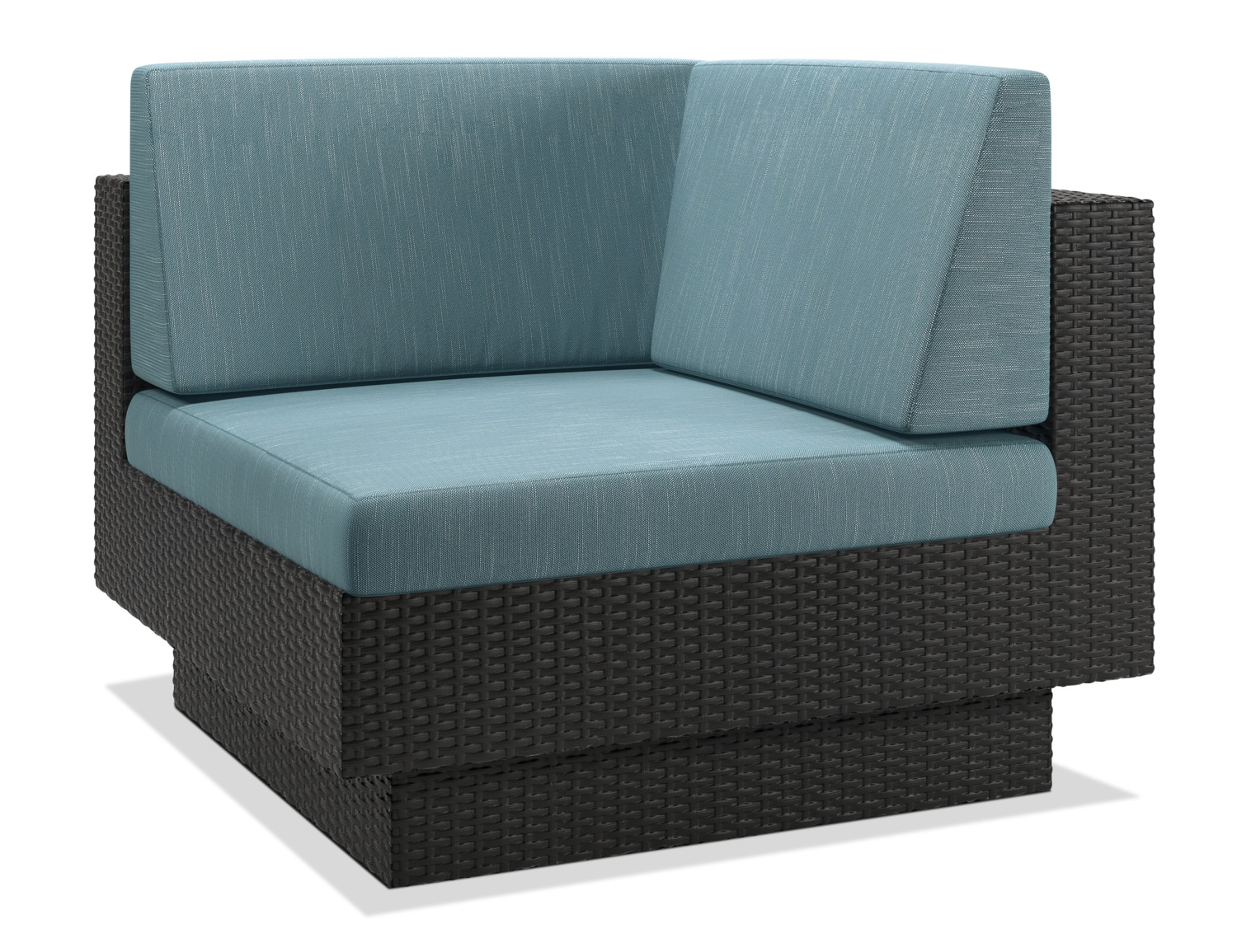 Parkview Patio Corner Chair Blue The Brick