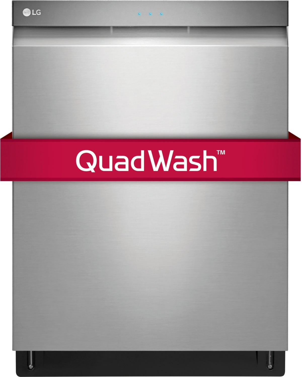 """Clean-Up - LG Stainless Steel 24"""" Dishwasher - LDP6797ST"""