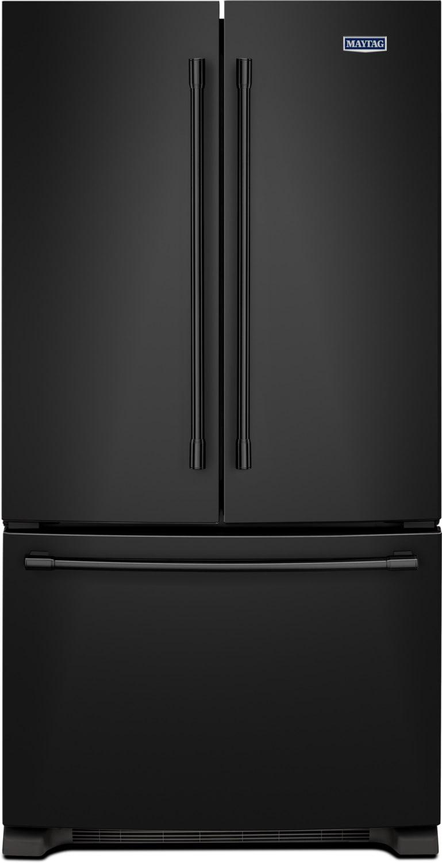 Maytag Black French Door Refrigerator (25 Cu. Ft.) - MFF2558FEB