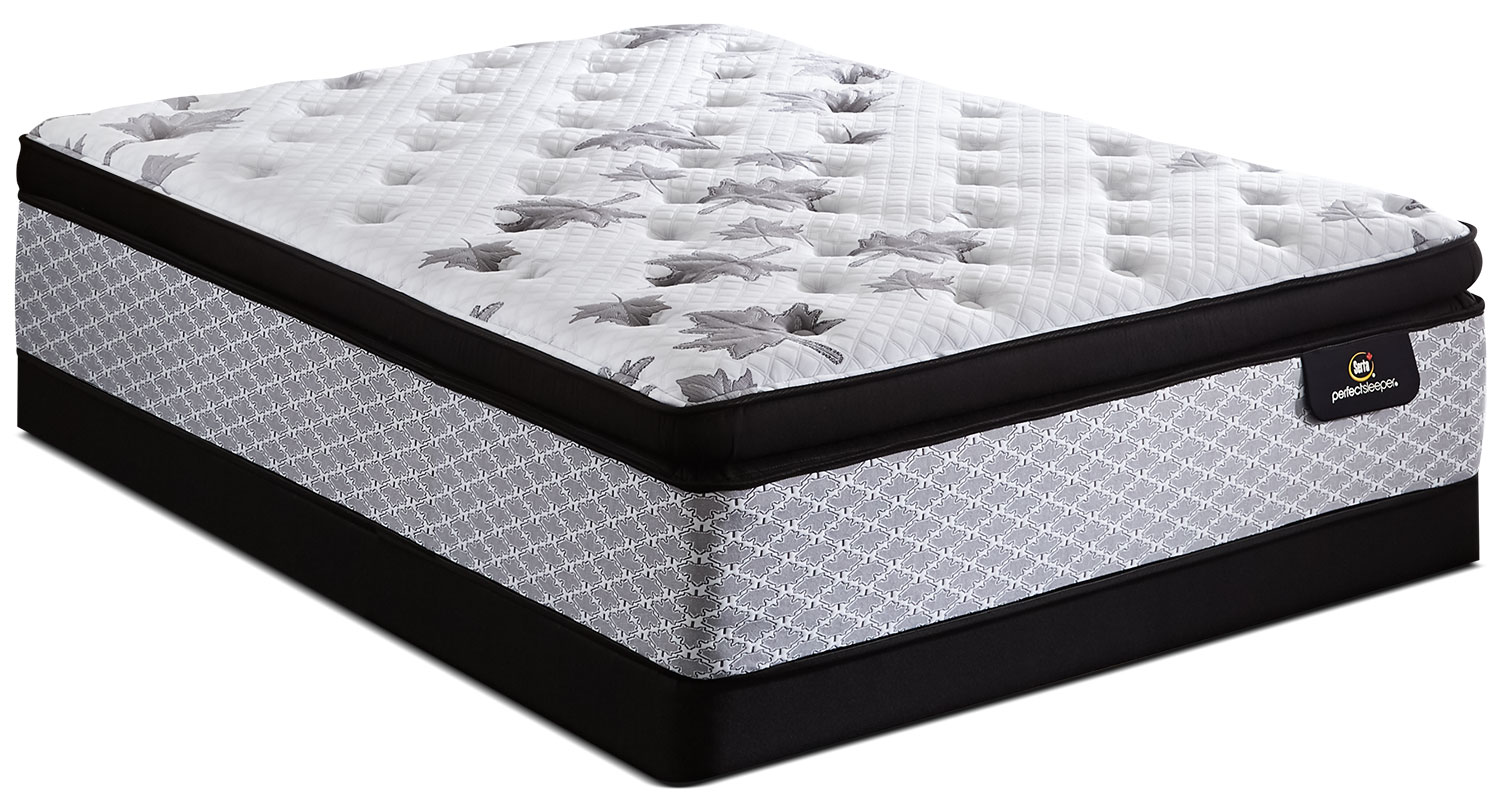 Serta Canada 150 Super Pillow-Top Luxury Firm Queen Mattress Set