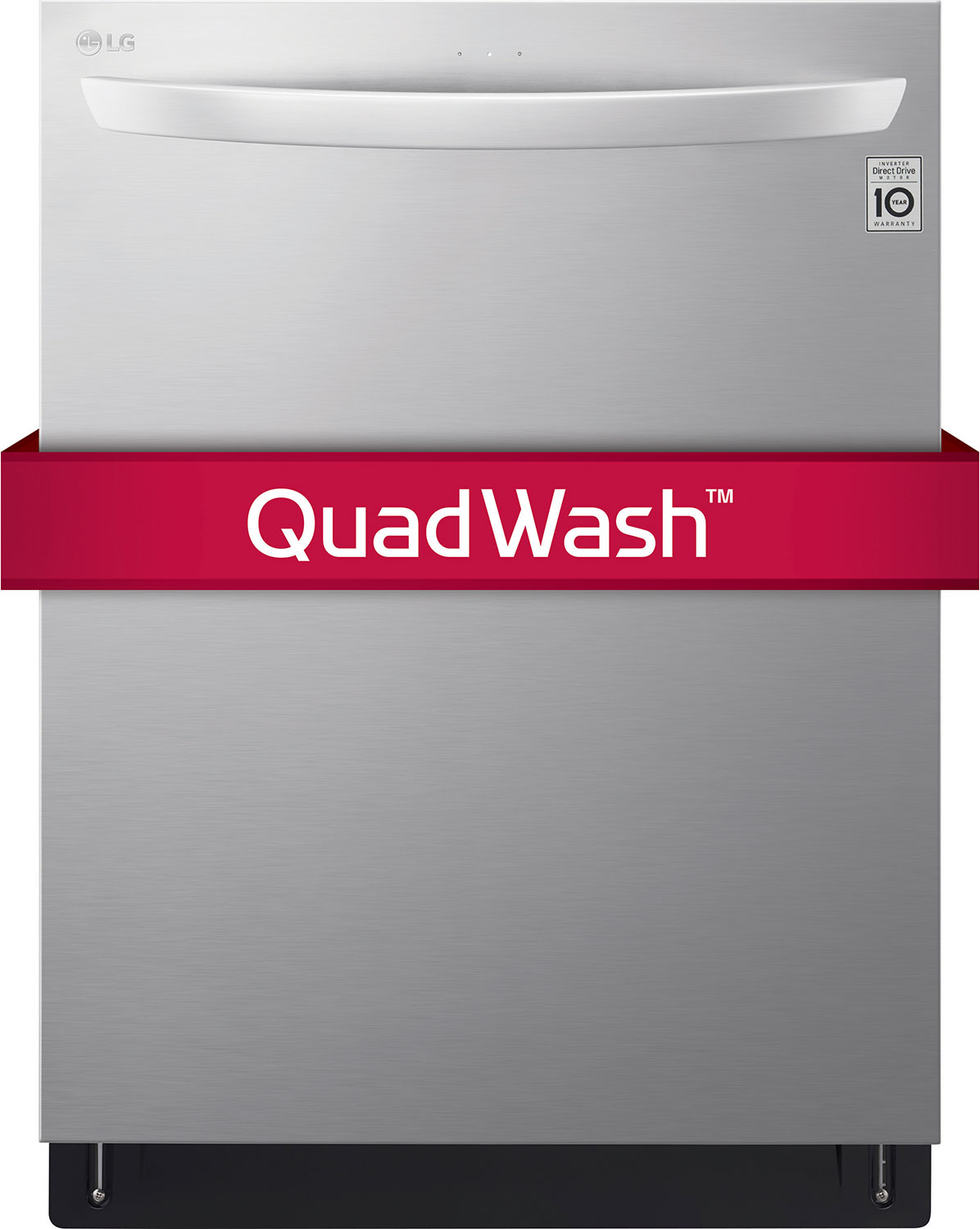 """Clean-Up - LG Stainless Steel 24"""" Dishwasher - LDT5665ST"""