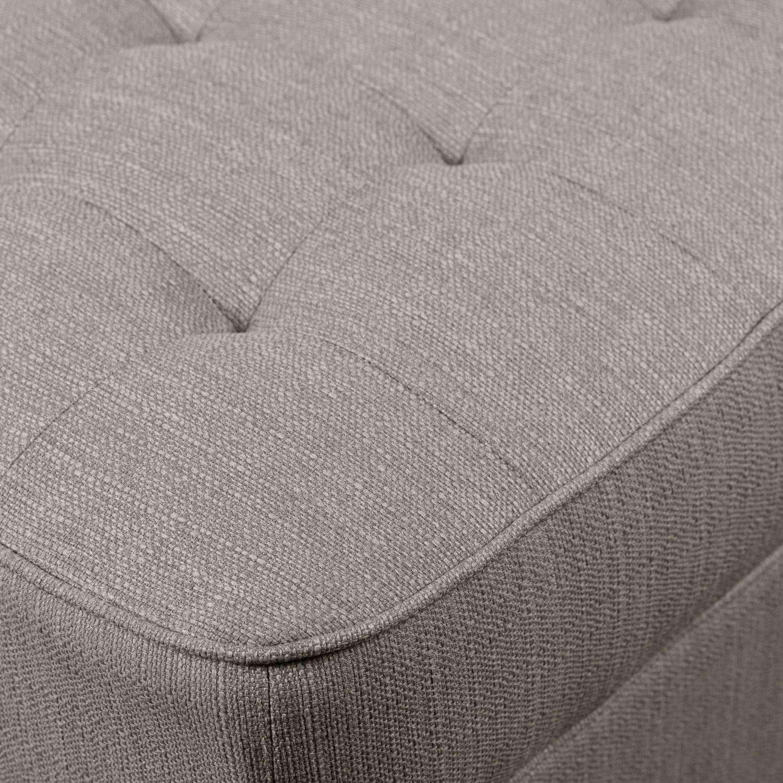 Material That Looks Like Granite : Paris linen look fabric armless loveseat granite the brick