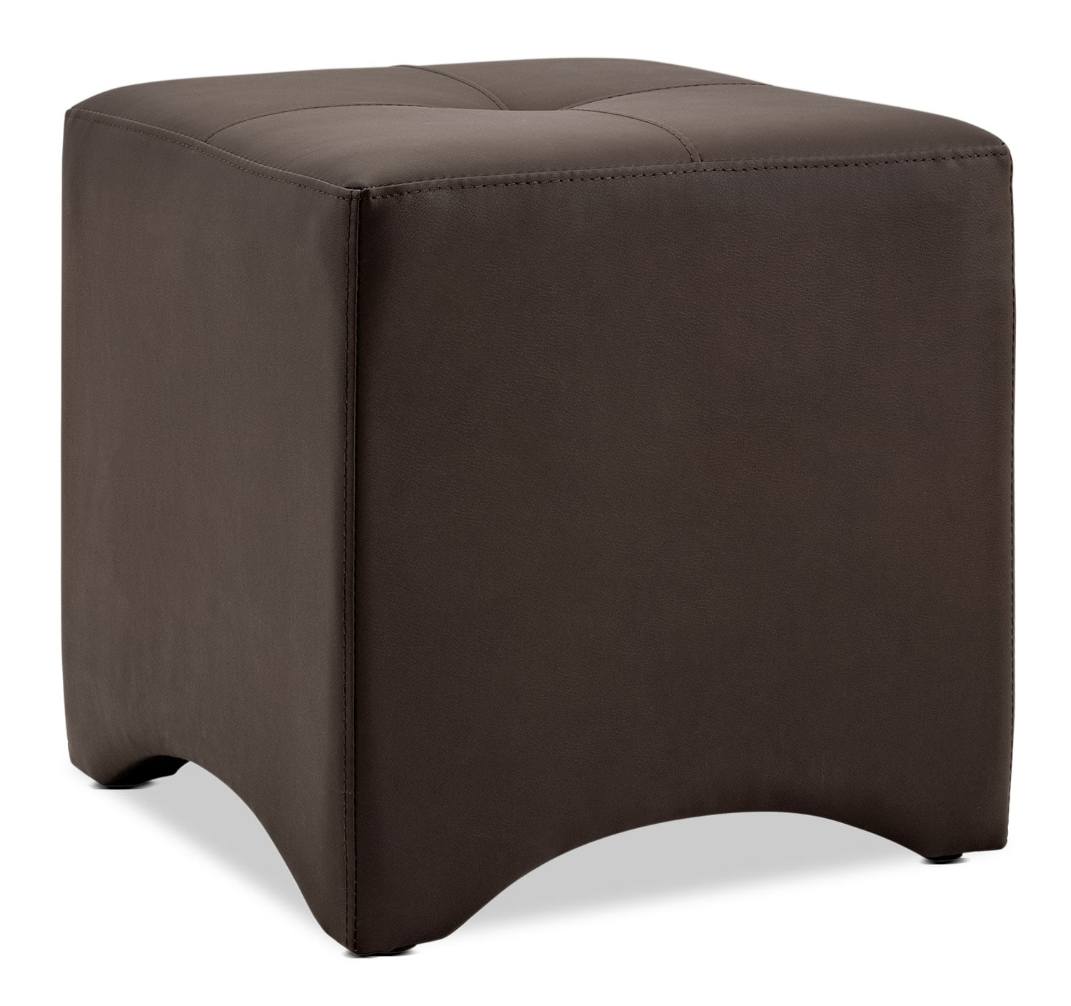 Accent and Occasional Furniture - Briel Ottoman – Brown