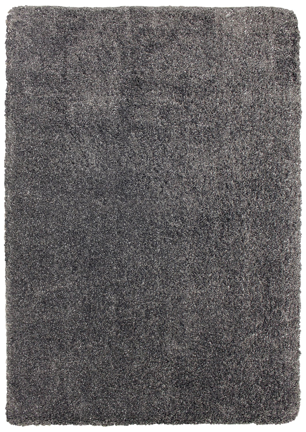 Loft Charcoal Grey Shag Area Rug – 7' x 10'