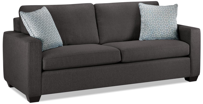 Living Room Furniture - Hilary Sofa - Charcoal