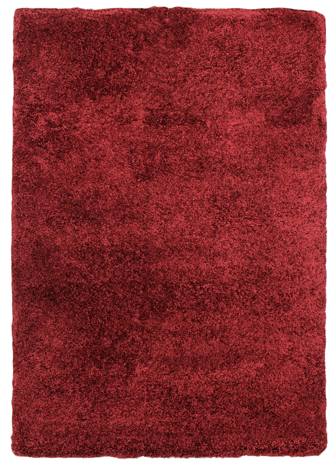 Rugs - Loft Red Shag Area Rug – 5' x 8'