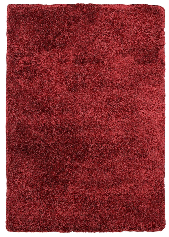 Rugs - Loft Red Shag Area Rug – 5' x 8'