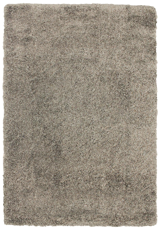 Tapis - Carpette à poil long Loft gris cendré – 5 pi x 8 pi