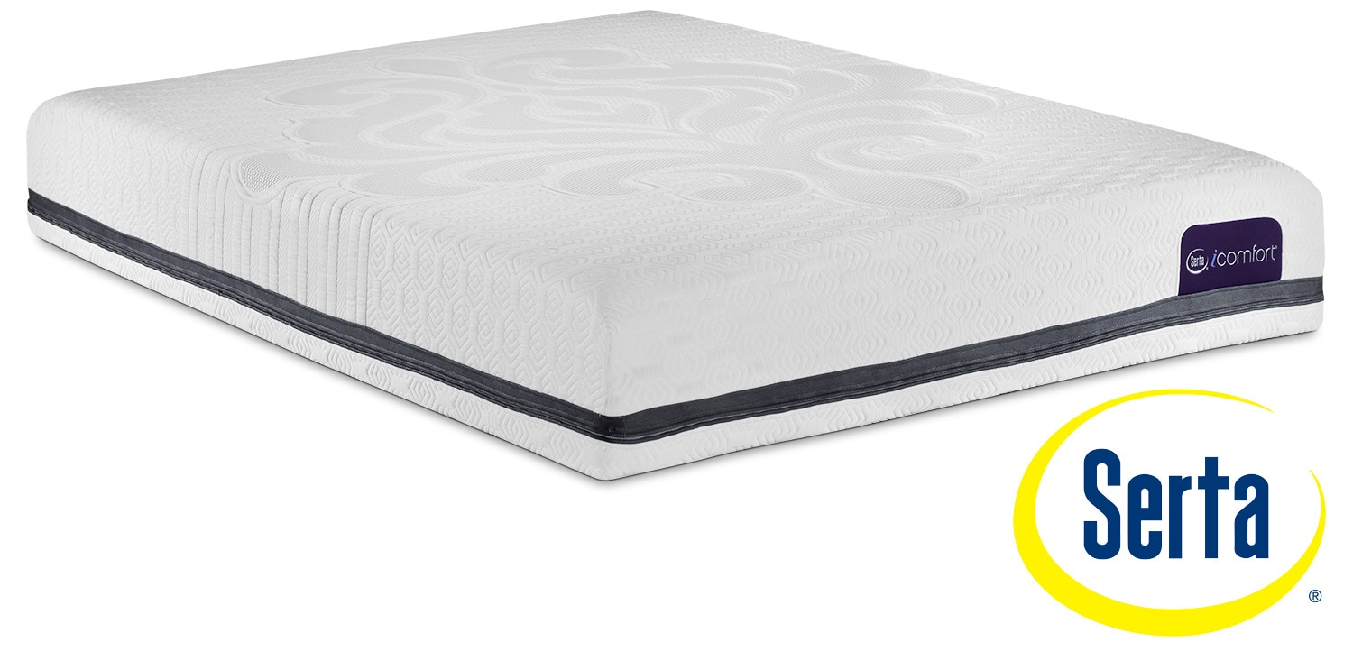 Serta Icomfort Eco Contingence Firm Queen Mattress Leon 39 S