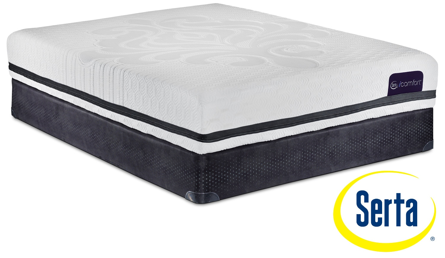 Mattresses and Bedding - Serta iComfort Eco Contingence Firm Queen Mattress and Boxspring Set