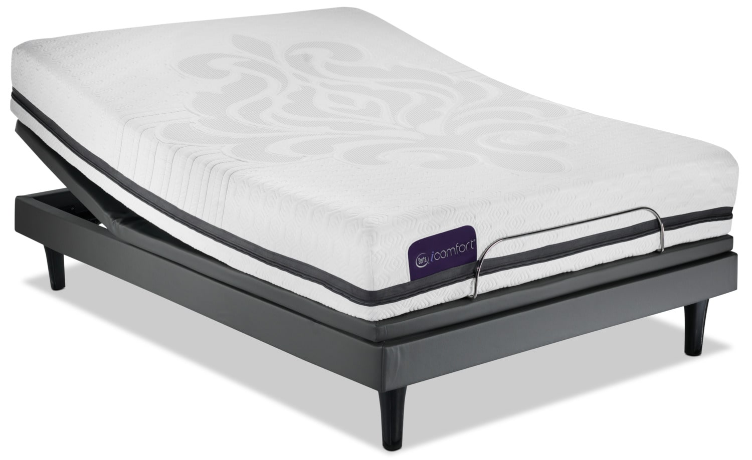 Serta iComfort Eco Contingence Firm Queen Mattress/Motion Perfect III Complete Adjustable Base
