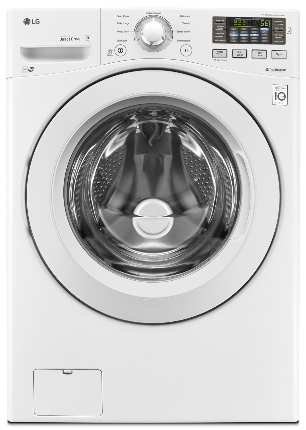 LG 7.4 Cu. Ft. Ultra-Large Capacity Electric Dryer – DLE3180W
