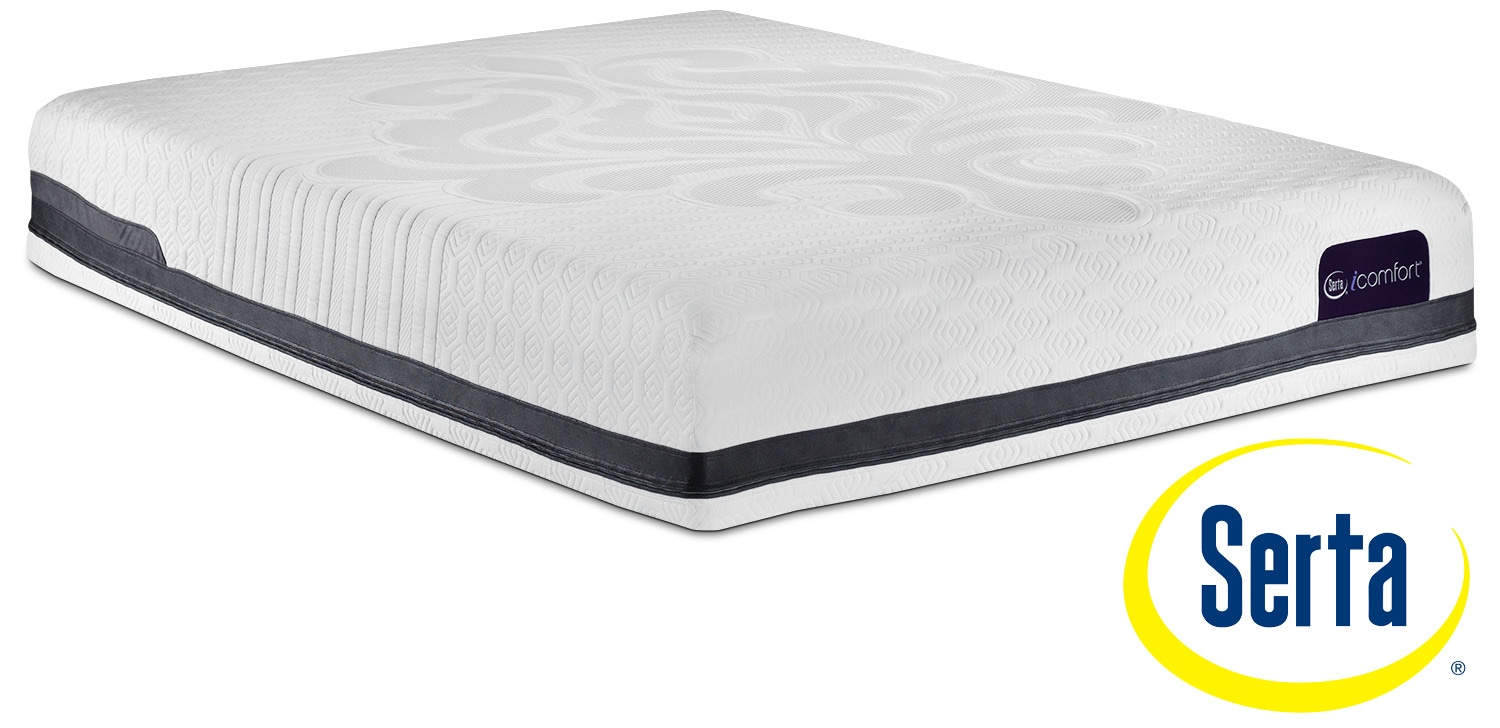 Mattresses and Bedding - Serta iComfort Eco Peacefulness Plush Queen Mattress