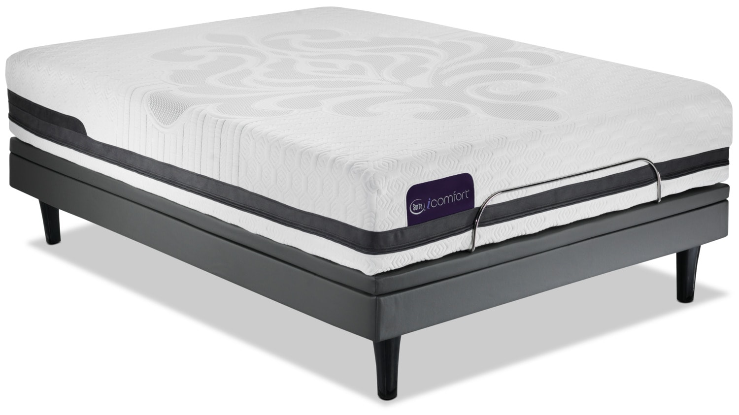 Serta Icomfort Eco Peacefulness Plush Twin Xl Mattress Motion Perfect Iii Complete Adjustable