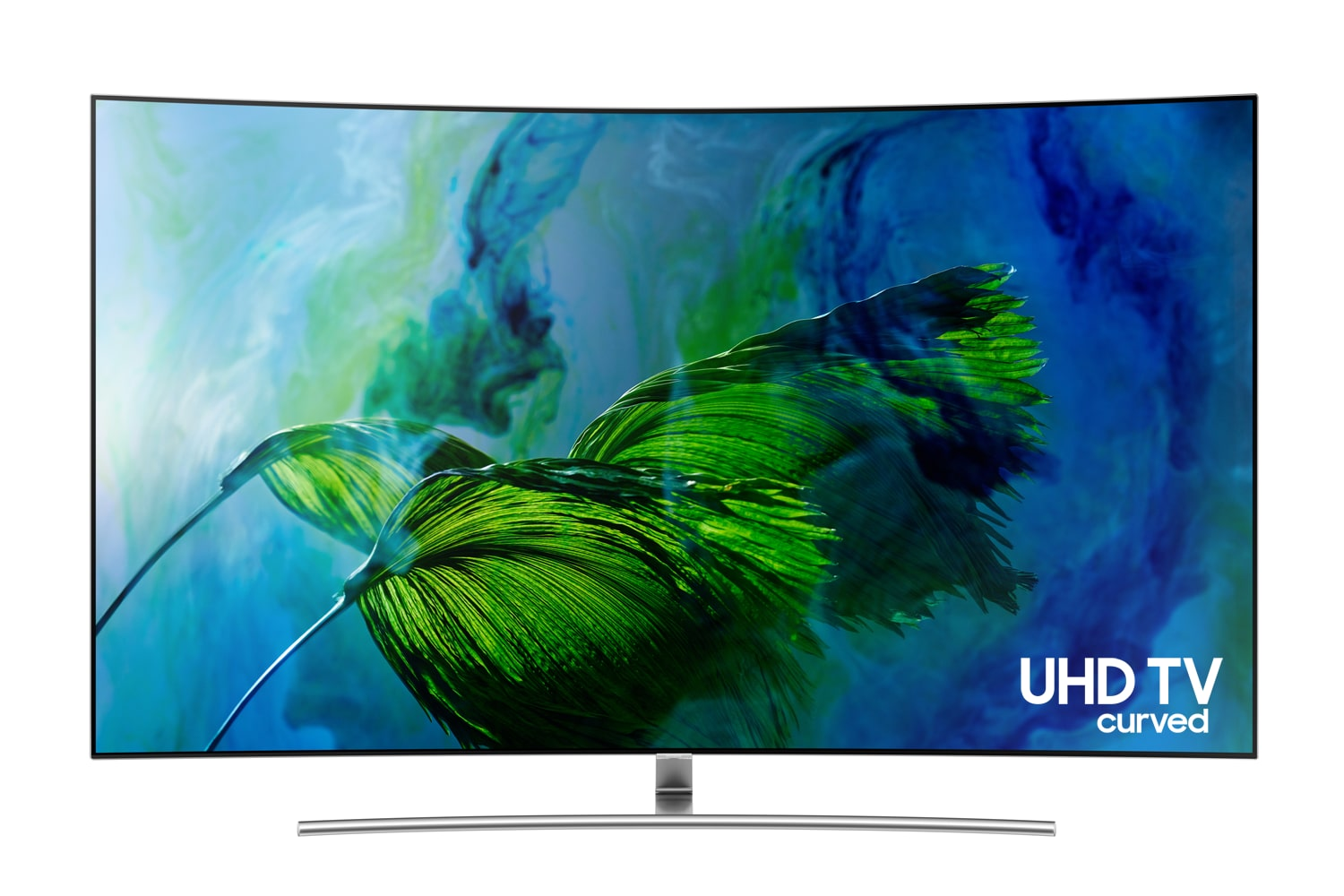 "Samsung 75"" 4K UHD Curved Smart QLED TV - QN75Q8CAMFXZC"