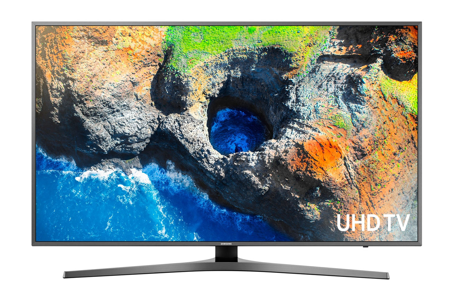 "Samsung 40"" 4K UHD Smart LED TV - UN40MU7000FXZC"