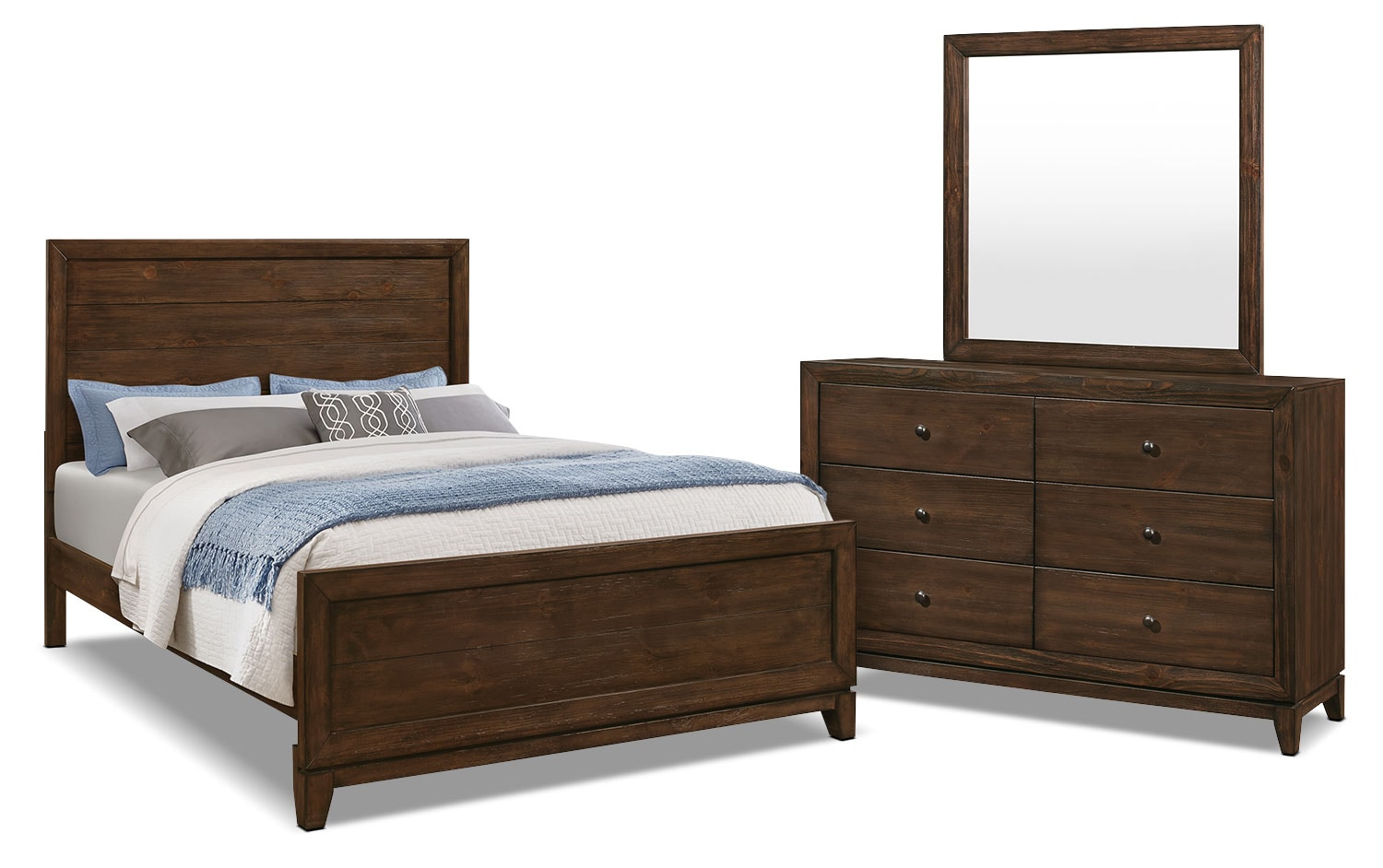 Tacoma 5-Piece Queen Bedroom Package