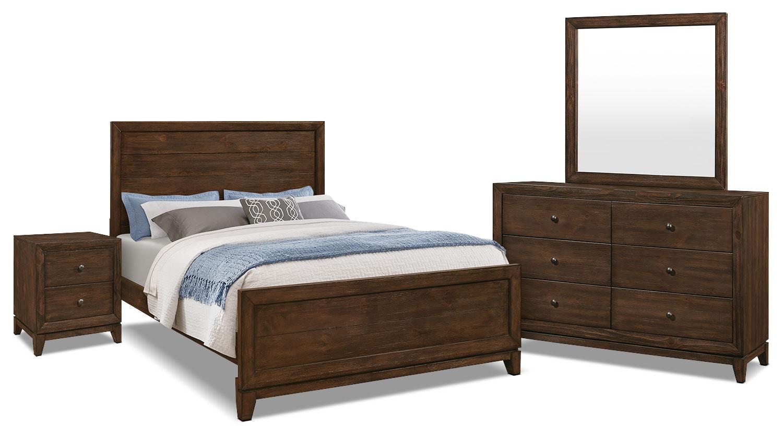 Bedroom Furniture Tacoma 6 Piece Queen Bedroom Package