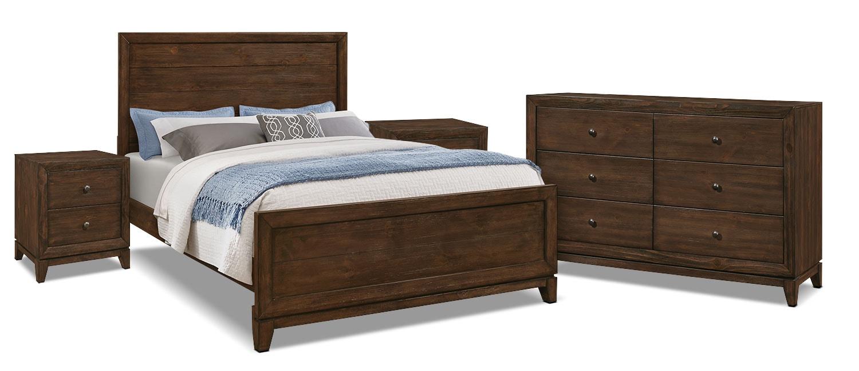 Tacoma 6-Piece Queen Bedroom Package with 2 Nightstands
