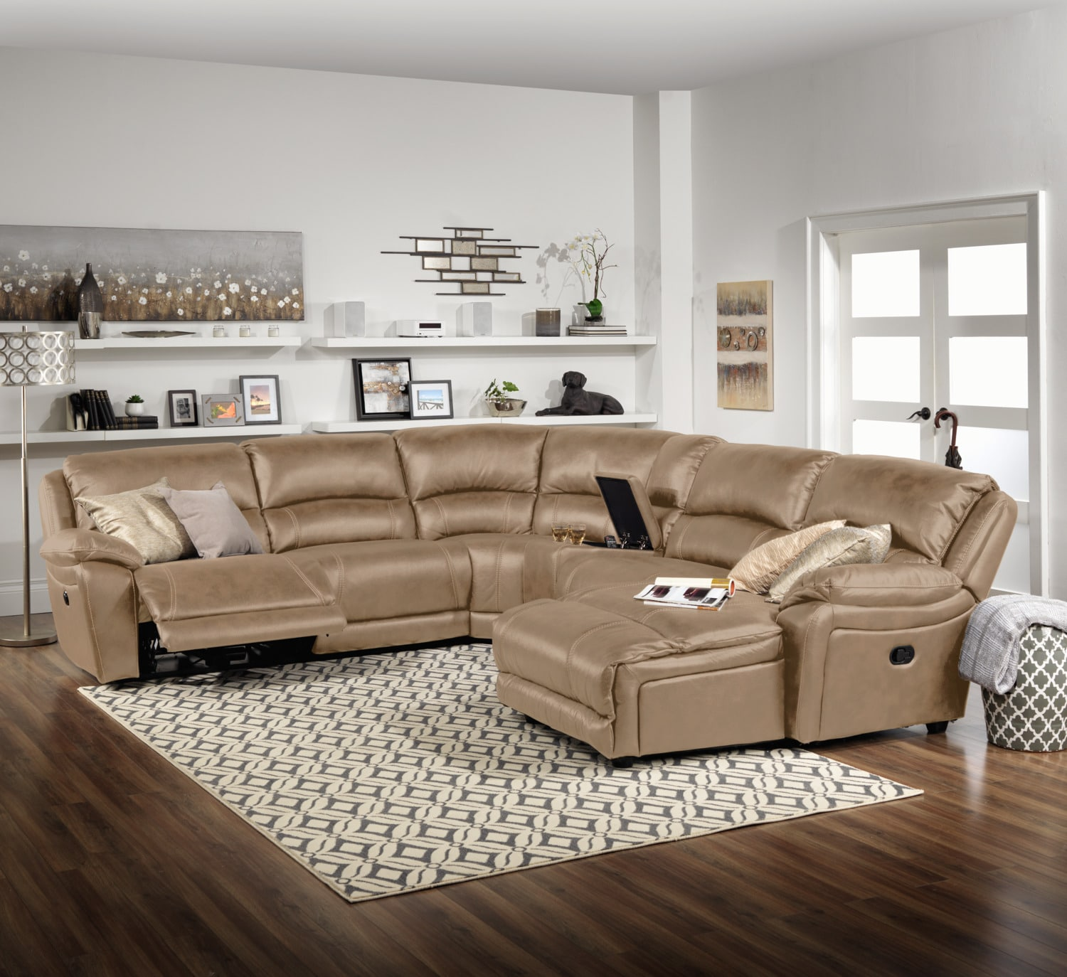The Santorini Collection - Taupe