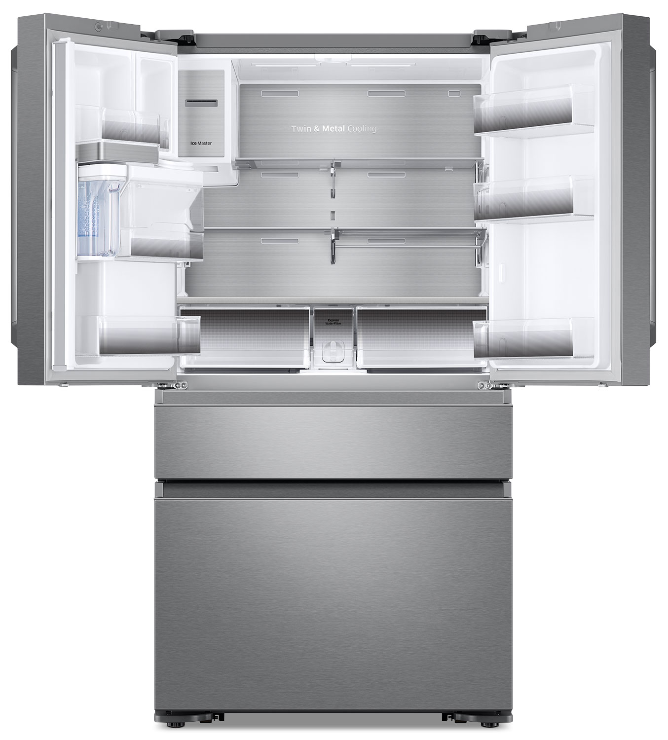Kitchen small appliances victoria bc - Samsung 22 6 Cu Ft French Door Refrigerator With Flexzone Rf23m8090sr