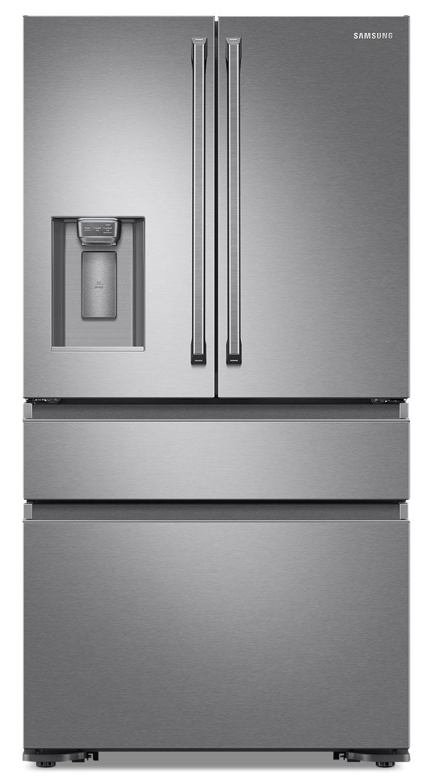 Refrigerators and Freezers - Samsung 22.6 Cu.Ft. French Door Refrigerator with FlexZone™ - RF23M8090SR