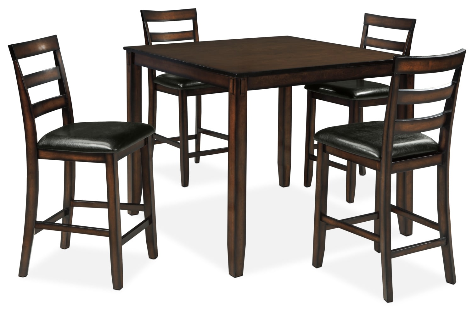 Tiba 5-Piece Counter-Height Dining Package