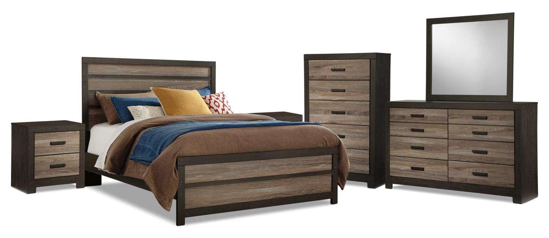 Harlinton 8-Piece Queen Bedroom Package
