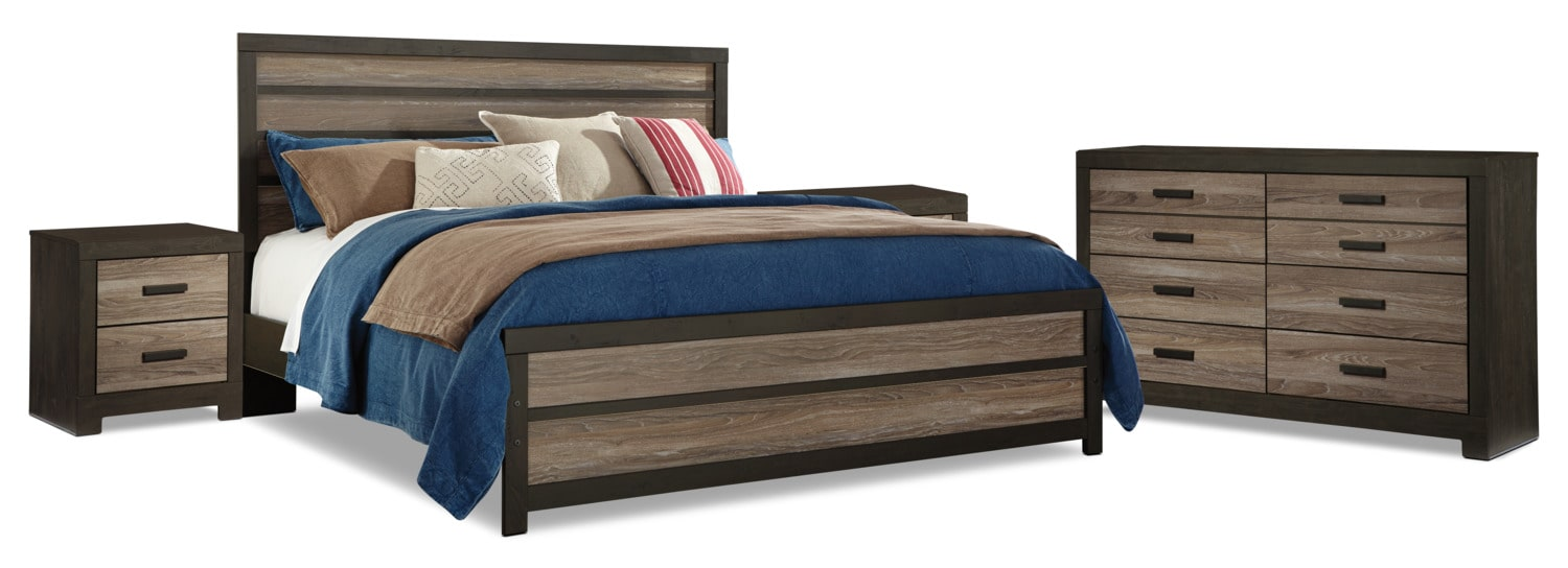 Harlinton 6-Piece King Bedroom Package with 2 Nightstands