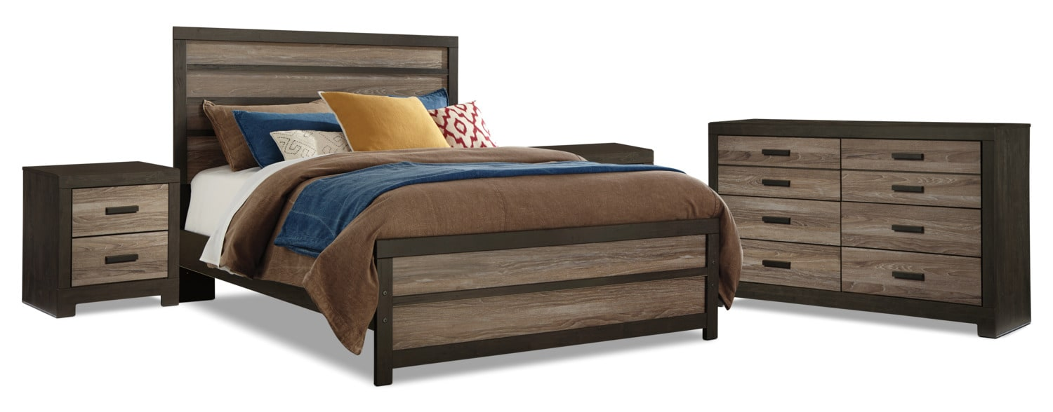 Harlinton 6-Piece Queen Bedroom Package with 2 Nightstands