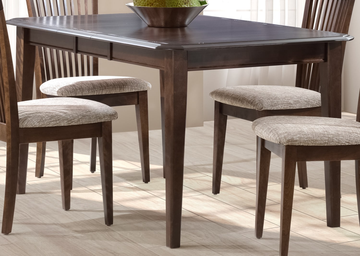Granby Dining Table - Bark Brown