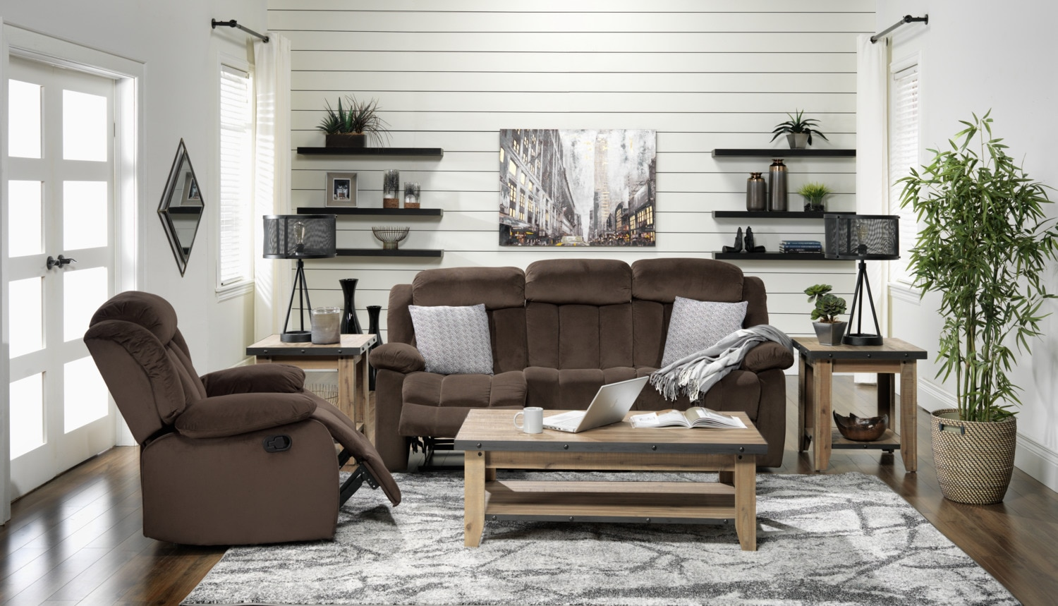Alabama 2 Pc. Living Room w/ Chair