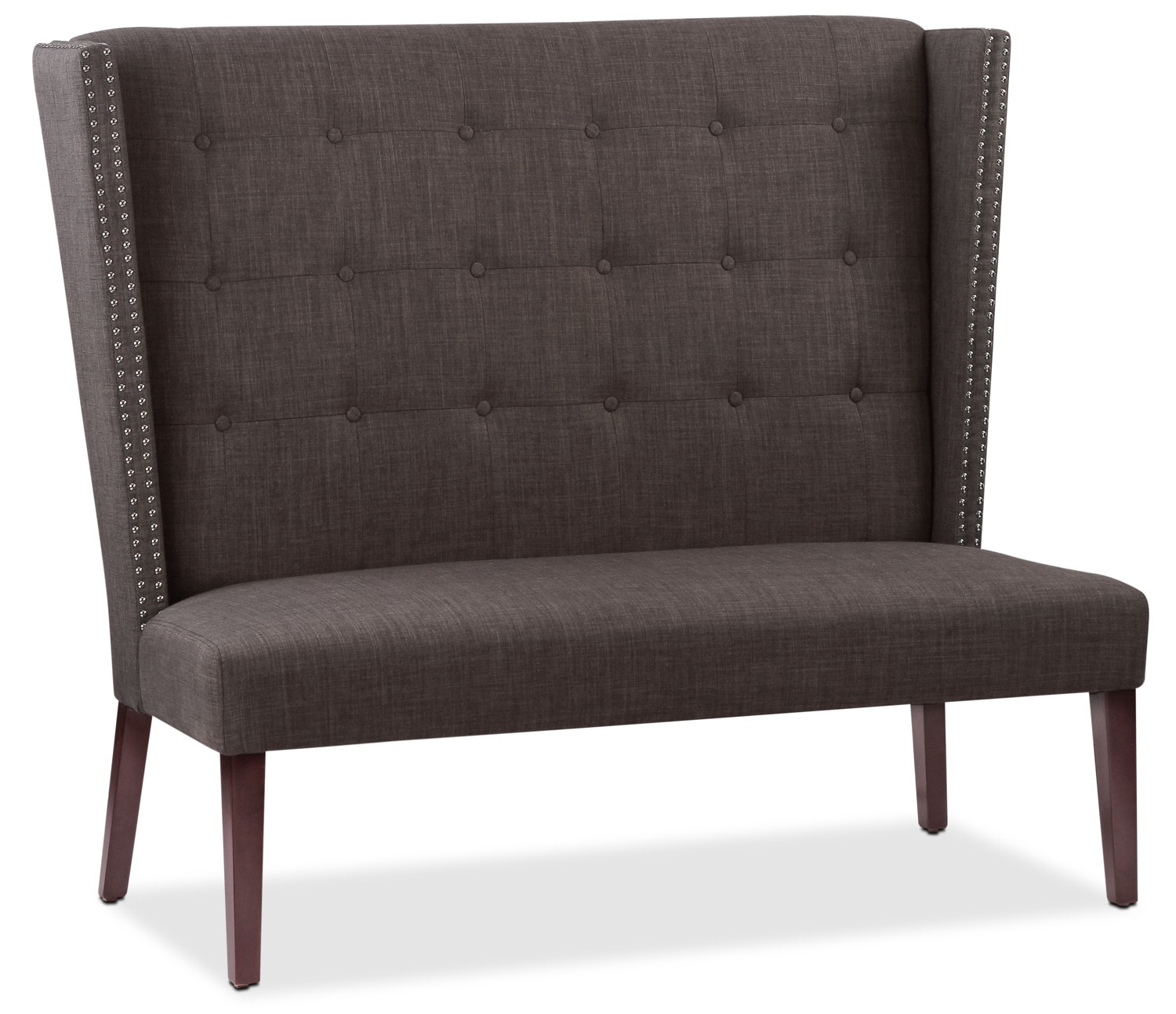Accent and Occasional Furniture - Gracie Wing-Back Hall Bench